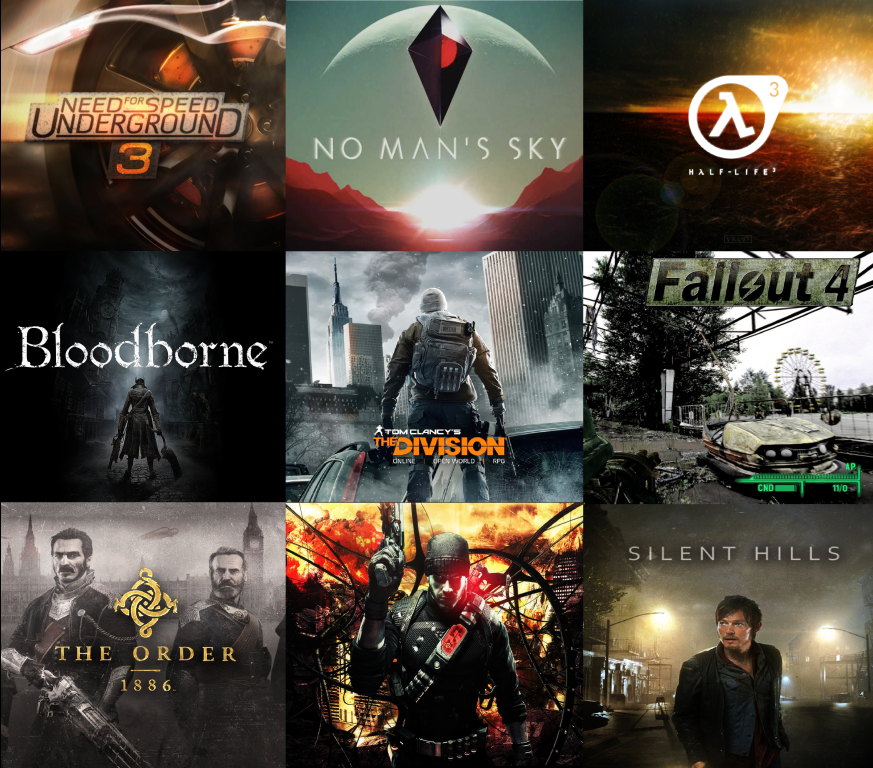 2015'te En Çok Seveceğiniz Oyunlar