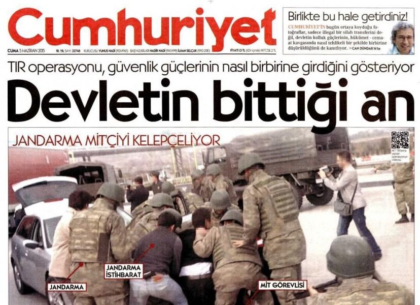 Gazete Manşetleri –  (5 Haziran 2015)