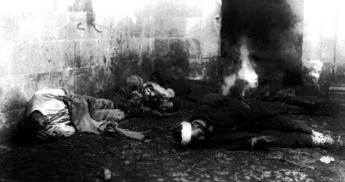 Navarin Katliamı, 19 Ağustos 1821