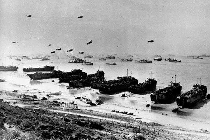 Normandiya Çıkarması (6 Haziran 1944)