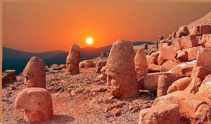 Tarihi Nemrut Dağı