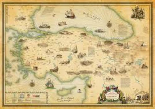 evliya çelebi harita