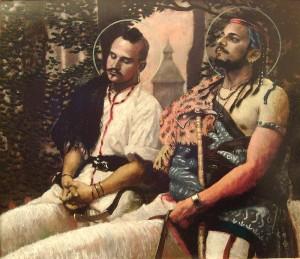 Attila ve kardeşi Bleda.