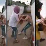 Genç Kızların Kavgası Hayrete Düşürdü!