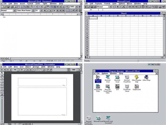 PowerPoint ve Excel