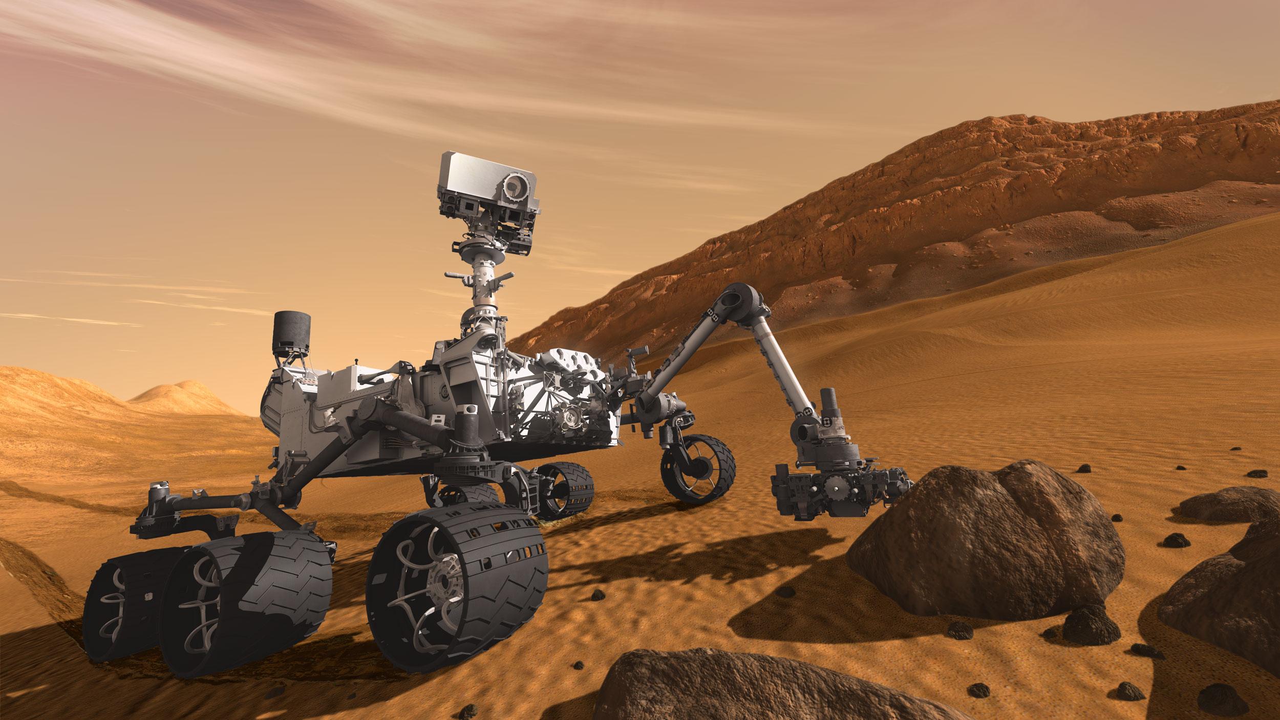 Mars'ta iHayat dönemi başlıyor