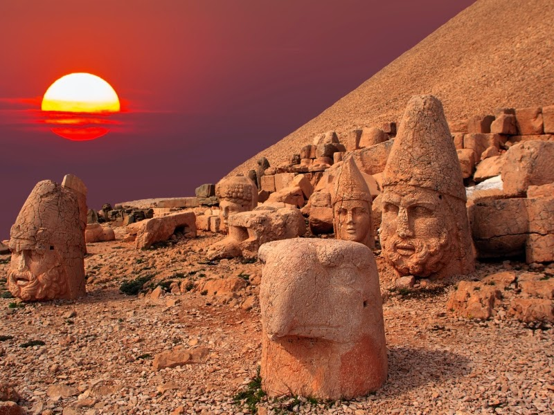Nemrut Dağı Günbatımı
