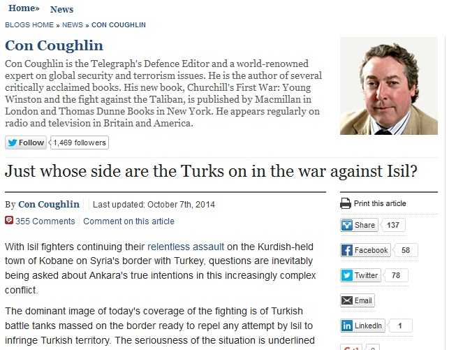 Daily Telegraph Turkey