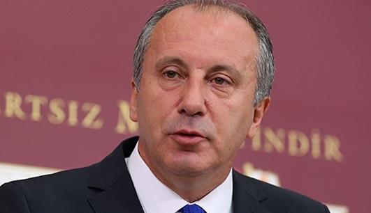 Muharrem İnce: Erdoğan, doktor raporu ile görevden alınsın!
