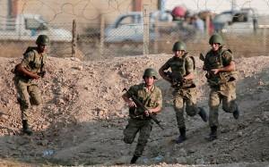Suriye Sınırı Türk Askerleri